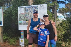 Eight-year-old runs 22km for biodiversity