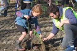 Biodiversity is enhanced at community planting day